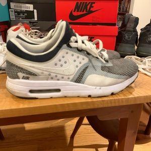 Nike Air Max Zero Black White Wolf Grey